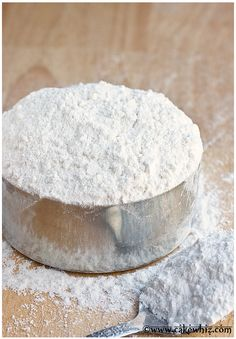 Cake flour is expensive. So, learn to make HOMEMADE CAKE FLOUR with just 2 basic ingredients! From cakewhiz.com