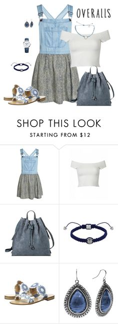 """""""Updated Overalls"""" by lwilkinson ❤ liked on Polyvore featuring Superdry, Target, Shamballa Jewels, Jack Rogers, Columbia, Baume & Mercier, TrickyTrend and overalls"""