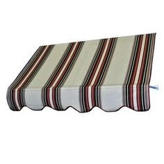 Americana Building Products 66-In Wide X 24-In Projection Burgundy Bla