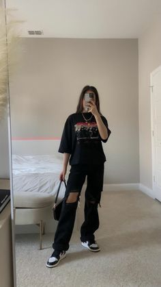 Indie Outfits, Teen Fashion Outfits, Retro Outfits, Cute Casual Outfits, Vintage Outfits, Tomboy Fashion, Streetwear Fashion, Aesthetic Clothes, Ideias Fashion