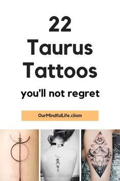 66 Taurus Tattoos That Are Down-to-earth Gorgeous - Our Mindful Life - 22 Gorgeous Taurus Tattoos that should be your next – Our Mindful Life //zodiac signs/ Taurus - Taurus Symbol Tattoo, Taurus Symbols, Taurus Constellation Tattoo, Taurus Tattoos, Horoscope Tattoos, Taurus Art, Astrology Taurus, Taurus Woman, Taurus Female