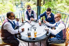 Brendan and Lisa: Hanging with the boys | Photo: Envision Photography | #kingfisherbay #fraserisland #destinationwedding #fraserislandwedding #fraserwedding http://www.fraserislandweddings.com.au/ #AccorAustralia #Mercure