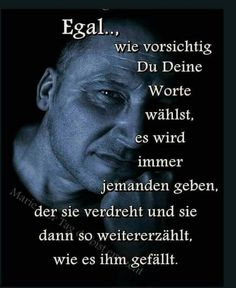 True Quotes, Best Quotes, German Quotes, Meaning Of Life, True Words, True Stories, Cool Words, Life Lessons, Quotations