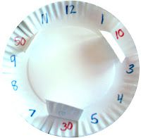 Time Teller - Lift and Peek  Teach how to tell time - with the minutes under the clock numbers!! :)  LOVE!