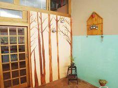 Mural com Latinhas e Plantas