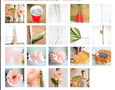 http://www.designsponge.com/2012/02/diy-project-giant-paper-flowers-from-ruche.html    How to make giant tissue flowers • Ruche