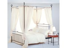 Himmelbett Graciosa   Metallbettenshop Home Interior, Toddler Bed, Bedroom Ideas, House Styles, Daybeds, Furniture, Heart, Home Decor, Italia