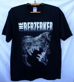 90c78501f The Berzerker 2006 Vintage t-shirt World Of Lies tour UK extreme metal band