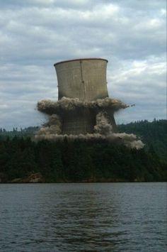 Trojan Nuclear Power Plant Demolition 2