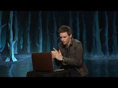 Watch Fantastic Beasts actor Eddie Redmayne discover his Patronus - YouTube