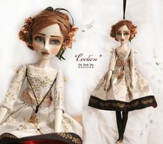 "Doll Ornament ""Evelien"" 