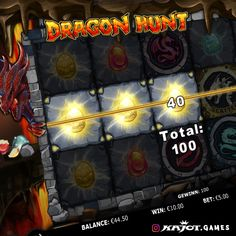Are you daring enough to take on a real dragon? Then plunge into our brand new 5-reel game! Brave dragon hunters are extravagantly rewarded here.