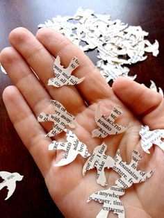 Romeo & Juliet Wedding Confetti 400 Count by LittleReadStore, $4.25