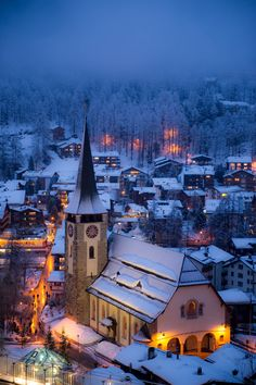 "allthingseurope: "" Zermatt, Switzerland (by Gregory Cohen) """