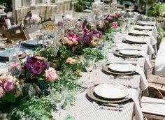English Garden table setting