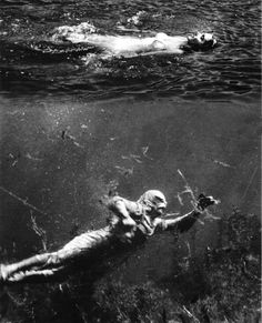 Creature From The Black Lagoon (1954) This is one of my fave monsters from when I was a kid.