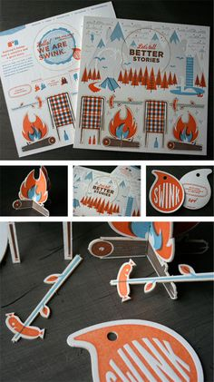Great graphic design and concept for a direct mail campaign