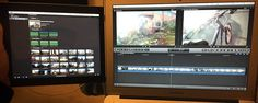 Use an iPad as a second display with Final Cut Pro X? Sounded a great idea to Chris Roberts, so...
