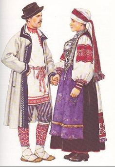Estonian folk costumes - Estonia