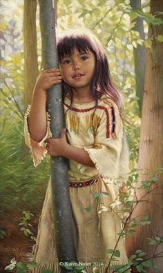 Available Western and Native American - Painter Karen Noles   DANCE WITH COLORS