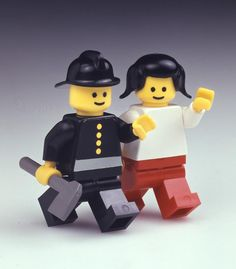 The first LEGO minifigures with movable limbs and hands that can grasp were introduced in 1978