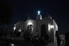 St. George church on the top of the Likavitos