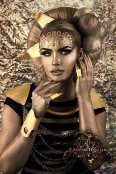 fantasy makeup art Mac - Google Search