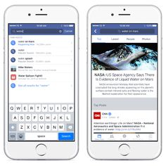 Find what the world is saying with #FacebookSearch