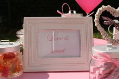 Hochzeitsdekoration - Candybar - Sweets - Rosa - Kreativ Punkt - Dekoration & Design - Ich dekoriere Ihre Traumhochzeit! - Dekorationen für jeden Anlass! - www.kreativ-punkt.info