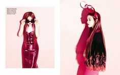 Eiffel In Seoul: Lee Hi Is All Pink For Vogue Girl