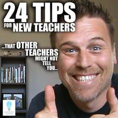 (Episode 24 Tips for New Teachers that Other Teachers Might Not Tell You. If you're a new teacher or a veteran, experienced teacher, there's something in this to help make your school life easier with classroom management, time management, teacher bur Teacher Memes, Student Teacher, Teacher Hacks, Elementary Teacher, School Teacher, Teacher Stuff, Teaching Quotes, Teaching Science, Teaching Tips