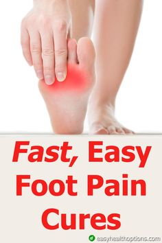 There isn't much worse than foot pain that just won't go away...