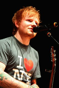 "Ed Sheeran Debuts Latest Song ""New York"" (in New York!)"