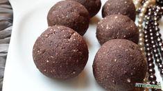 """Keksz""golyó Healthy Snacks, Paleo, Cookies, Chocolate, Desserts, Fitness Foods, Health Snacks, Crack Crackers, Tailgate Desserts"