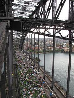 Breakfast on the Sydney Harbour Bridge - Australia - 2010