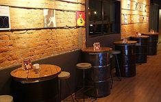 [New] The 10 Best Cheap Home Decor (in the World) Bar Interior, Restaurant Interior Design, Coffee Shop Design, Cafe Design, Deco Restaurant, Rustic Restaurant, Barrel Furniture, Cafe Bar, Cheap Home Decor