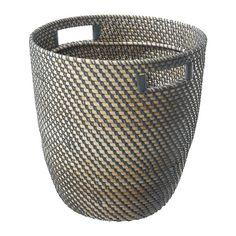 RÅGKORN Übertopf IKEA Innenseite durch Kunststoffbeschichtung wasserdicht. Durch Griffe besser zu tragen.