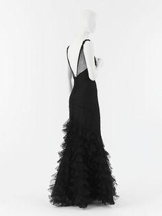 1932 Chanel black evening dress 04