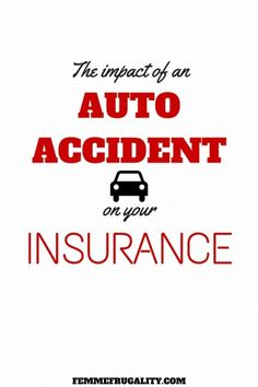 Think an auto accident will automatically make your insurance rates soar? Find out when and why that does, and doesn't, happen. On Today, Car Insurance, Personal Finance, Knowledge, How To Remove, Money Matters, Shit Happens, Money Tips, Frugal Living