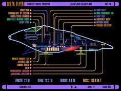 Star Trek Schematics | Delta Flyer
