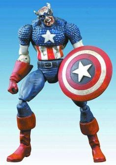 Marvel Select Zombie Colonel America Captain America Action Figure ** Read more  at the image link.