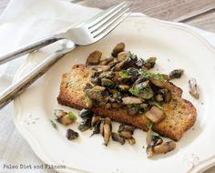 REBLOGGED - Egg free breafast: Tarragon Mushrooms on Toast