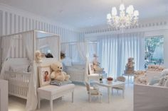 Decorating for twins room Twin Baby Rooms, Baby Bedroom, Baby Room Decor, Baby Cribs, Girls Bedroom, Babies Rooms, Nursery Twins, Nursery Room, Girl Room