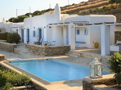Beautiful villa with private pool and panoramic sea view of Golden Beach - Drios Villa Am Meer, House In Nature, Villa With Private Pool, Beautiful Villas, Cottage Homes, Vacation Villas, Provence, Swimming Pools, Greece