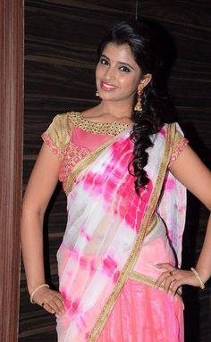 Indian Girls Villa: Anchor Shyamala Stills At Jyothi Lakshmi Movie Aud...