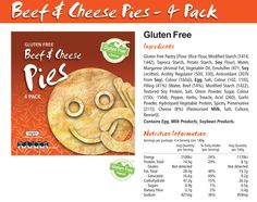 Gluten Free Pastry, Cheese Pies, Soy Lecithin, Feel Good Food, Rice Flour, Free Products, Bread, Make It Yourself, Brot
