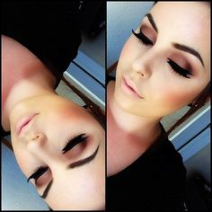Smokey eyeshadow for girls