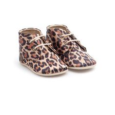 Toddler chic!! Leopard Booties from from Zara Home Kids