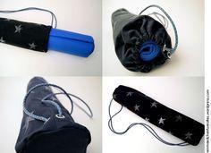Matchbeutel - eine Tasche für die Yoga-Matte selber nähen