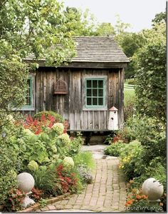vignette design: Rustic Gardens: A Feast for the Senses